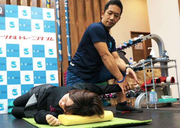 パーソナルトレーニング中の様子